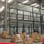 Mezzanine in Warehouse