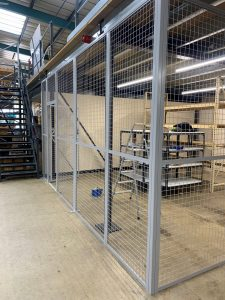 Mesh Partitions for Warehouse